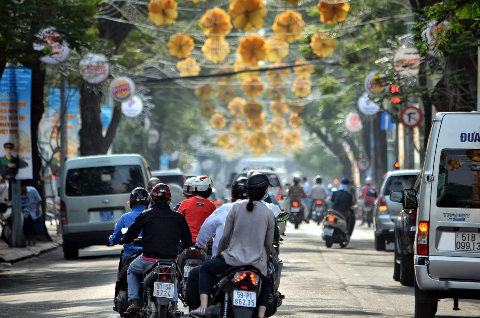 Vietnam's bustling streets are an assault on the senses